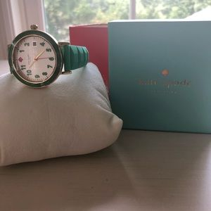 Kate spade silicone strap watch